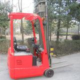 1ton dirigono commercianti elettrici del carrello elevatore a forcale della rotella di prezzi di fabbrica i tre