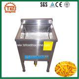 pommes frites 100kg fraîches faisant la chaîne de fabrication de pommes chips de machine et