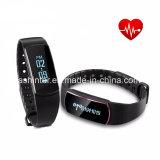 Braccialetto astuto del pedometro impermeabile di sport dell'inseguitore di sonno del Wristband del video di frequenza cardiaca