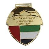 Glitter Médaille d'émail doux avec du ruban de sublimation