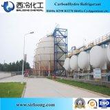 Pureza 99.8% gáss R290 Refrigerant congelados propano no pacote do tanque do ISO