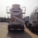 Misturador concreto de Sionotruk 14 Cbm 370HP com o motor comum do trilho