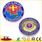 Medaglia di riempimento personalizzata della croce rossa di colore di Deboss