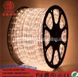 A iluminação 220V do diodo emissor de luz da fábrica cancela a luz da decoração do Natal do fio da luz 2 da corda