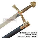 As espadas européias das espadas medievais da espada do leão 114cm