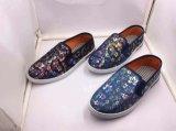 Zapatos causales del PVC de la tela de los zapatos de los zapatos del hombre unisex de la mujer