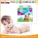 100% Pampas macio fraldas para bebé dormir de Guangzhou China
