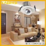 Puede girar 360 grados / Embedded 30W en el techo de la luz de linterna LED CREE