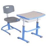 Оптовая торговля детьми с регулировкой по высоте мебель студентов стул и стол Hya-101