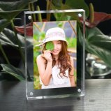 Taille du client en acrylique transparent Photo Frame