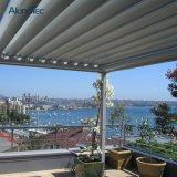 Pergola imperméable à l'eau en aluminium de 2017 nouveaux produits pour des nuances de balcon