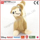 Trousseau de clés doux de chameau de peluche de boucles principales de peluche de jouet pour des gosses