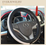 """Coperchio del volante della signora Wool Car con il Rhinestone 38cm 15 """""""
