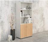 Hölzernes Möbel-Büro-Vorhalle-Aktenschrank-Bücherregal