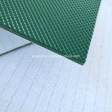 Bande de conveyeur rugueuse verte industrielle de tapis roulant de PVC première pour l'allumeur