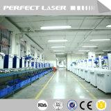 Совершенный лазер - Машина маркировки лазера СО2 летания даты он-лайн для деревянной пластичной кожи