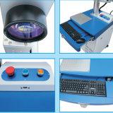 金属の非金属30W 20W小型光ファイバカラーレーザーのマーキング機械