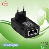 Us/Au/EU/UK Poe van de Stop 24V 1A de Adapter van de Macht met Ce/FCC/RoHS