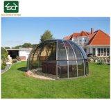 Piscina de spa de segurança abrange a estrutura de aço Gabinete piscina de spa