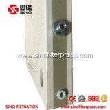 Prensa de filtro de placa de la membrana del revestimiento del manual 630m m PP
