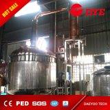 Destilador de cobre rojo de llavero del whisky del brandy con 4 placas