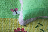 Kundenspezifische vorgewaschene haltbare bequeme Bettwäsche steppte die Bettdecke der Bettdecke-1-Piece, die für 76 eingestellt wurde
