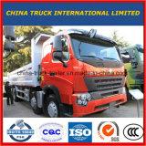 Camion à benne basculante utilisé par bonnes conditions de tombereau des pneus 8X4 du prix bas HOWO 12