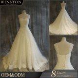 Fournisseur de la Chine à chaud de la Dentelle de mariée robe de mariage