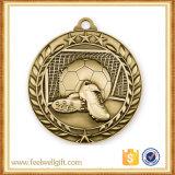 Bienvenido a la medida de alta calidad de la medalla de fútbol en 3D.
