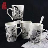 Tazze di caffè di ceramica della tazza di tè del rifornimento della fabbrica di stile della vernice della Cina
