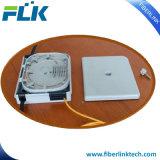 12/fibra/núcleos en el interior del piso de fibra óptica Terminal/Cuadro de terminación para cable vertical
