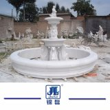 Fonte estratificado da esfera da água da pedra 3 chineses naturais do mármore do granito para o jardim ao ar livre & o Landcaping