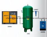 20HP 15kw ölverschmutzter industrieller schraubenartiger Luftverdichter mit Luft-Becken
