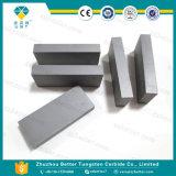 Tiras do plano do carboneto de tungstênio da alta qualidade