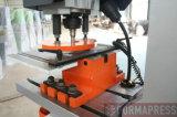Máquina do Ironworker do metal de Q35y 40 com dobra e entalhadura