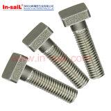 Parafusos DIN478 principais quadrados com colar