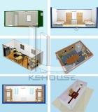 Constructions préfabriquées accessibles de conteneur pour le dortoir (KHCH-2015)