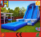 Diapositiva de agua inflable con la piscina para la venta