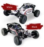 147739-1-10 juguete corto teledirigido del carro de la escala 2.4G 2WD - blanco