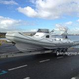 Velocidade de 8.3m Liya barco de passageiros pequeno barco de costela de cabina Venda