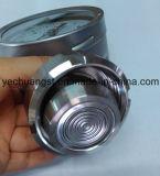 ステンレス鋼のダイヤフラムのシールが付いている圧力計