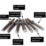 고체와 구렁 리베트 Nv 1040를 위한 공기 또는 압축 공기를 넣은 리벳을 박는 망치 또는 리베터