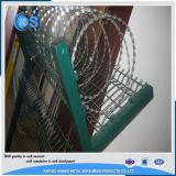 Цена окунутого горячего гальванизированное/электрическое гальванизированное бритвы колючей проволоки