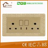 Contactdoos van uitstekende kwaliteit van de Schakelaar van de Keuken van de Muur de Elektro
