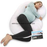 Het nieuwe Extra Comfort van de Vorm van het Lichaam C van het Moederschap van het Hoofdkussen van de Zwangerschap Buik van De contouren aangegeven