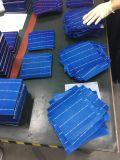 Una poli pila solare 156.75*156.75mm del grado 18.5%