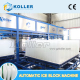 20 toneladas/día de venta de máquina automática de bloque de hielo como panqueques