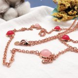 Lange Halsband van de Parel Deisgn van de Stijl van het Midden-Oosten de Elegante voor de Vrouwen van het Meisje