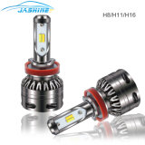 Car parts LED Waterproof IP65 30W 6000lm 6500K 2300K S5 dual Color LED Headlight H7