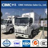 Camion refrigerato 6wheeler della Cina Isuzu Kv600 4X2 con il termo re -18 gradi